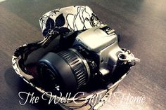 The Well Crafted Home: Made By Me Mondays #15! DIY Camera Strap