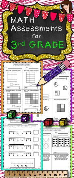 Math Assessments for 3rd Grade