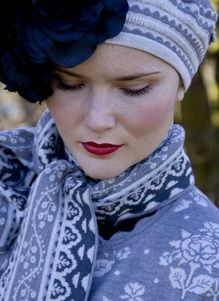 Warm and beautiful Oleana. Made in Norway.