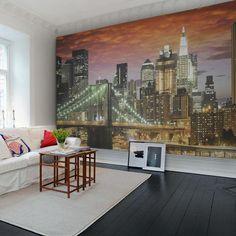 Painéis Fotográficos - City - Painel Fotográfico Brooklyn Bridge