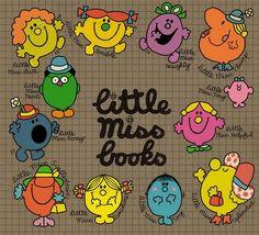 Little Miss Books.my childhood! Little Miss Books, Mr Men Little Miss, Mr Men Books, My Books, 90s Childhood, My Childhood Memories, Toys R Us Kids, 1990s Kids, Little Library
