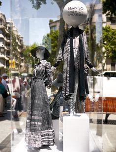 Mango Fashion Awards 4th Edition, Barcelona visual merchandising: Great example of thinking outside the STORE!