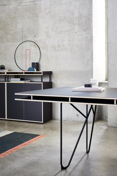 Bene's modular workplace system is designed for freelancers