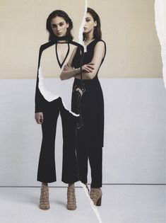 <p>From fashion spreads by Hedi Slimane, Dan Giuliani or advertising campaigns, illustrator and art director Eugenia Alejos makes mixed-media destructured fashion collages where she layers, cut and pa