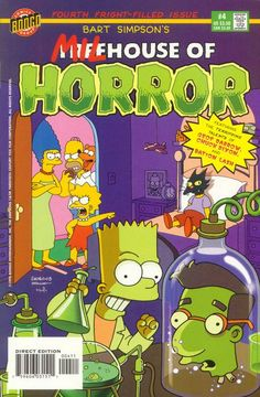 treehouse of horror | Bart Simpson's Treehouse of Horror Comics guide — covers ...