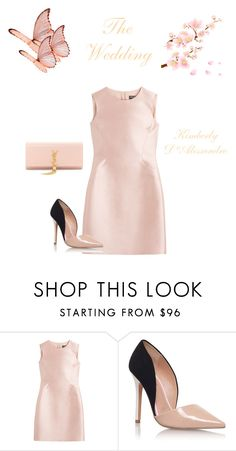 """Untitled #707"" by kimberlydalessandro ❤ liked on Polyvore featuring Salvatore Ferragamo, Miss KG and Yves Saint Laurent"