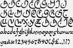 Calligraphy Fonts Alphabet, Alphabet Symbols, Hand Lettering Alphabet, Cursive, Arabic Style Font, Arabic Font, Graffiti Lettering Fonts, Lettering Styles, Style Alphabet