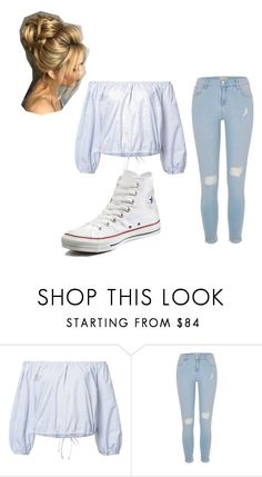 """""""Cute"""" by princesscouture1229 on Polyvore featuring Sea, New York, River Island and Converse"""