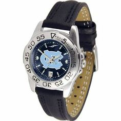 North Carolina Tar Heels NCAA AnoChrome Sport Ladies Watch (Leather Band) by SunTime. $53.10. Calendar Date Function. Rotation Bezel/Timer. Scratch Resistant Face. This handsome, eye-catching watch comes with a genuine leather strap. A date calendar function plus a rotating bezel/timer circles the scratch-resistant crystal. Sport the bold, colorful, high quality logo with pride. The AnoChrome dial option increases the visual impact of any watch with a stunning radial re...