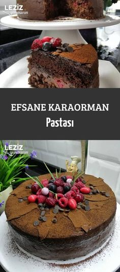 Legend of Karaorman Cakerecipe Legend of Karaorman Cake O tradicional naked cake de chocolate servido com recheio de brigadeiro e morango para finalizar. Brownie Cake With Cheesecake Chocolate Mousse- Credit: Rosie's Dessert Spot GuinessChocolateCake Cake Recipes, Snack Recipes, Dessert Recipes, Cooking Recipes, Desserts, Chocolate Raspberry Cake, Chocolate Cake, Mousse Au Chocolat Torte, Pasta Cake