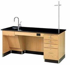 Diversified Woodcrafts 1216K-L-ADA - ADA Instructor's Desk Sale Price: $2,451.63