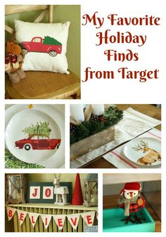 My Favorite Holiday Finds at Target plus sharing our favorite upandupdiapers! AD @target