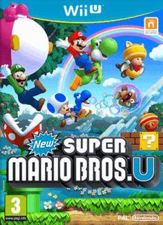 New Super Mario Bros. U Wii U Cover Art