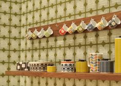 Love the mugs. Love Orla Kiely.