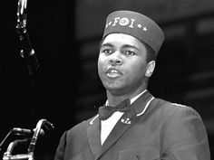 Ali fez or cap is very similar to the cap of the Shriners also the bow-tie