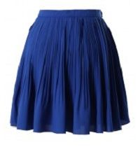 A floaty, feminine pleated skirt.