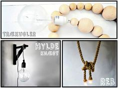 DIY LAMPS - via HOMESICK.nu