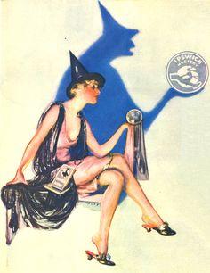 halloween inspiration - ipswich hosiery advert