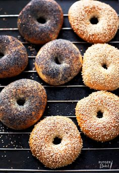 Bread Recipes, Cooking Recipes, Sandwiches, Bagel Recipe, Savoury Baking, High Tea, Pain, Bakery, Brunch