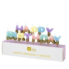 Pastell Glamour Happy Birthday Geburtstagskerzen Pastell Party, Chai Tea Recipe, Happy Birthday Candles, Candle Diffuser, Luxury Candles, Tea Recipes, Glamour, Place Card Holders, Diffusers