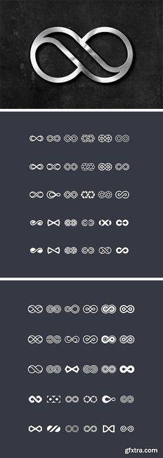CM 1556205 - 60 Infinity Symbols