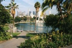 MacArthur Park in Los Angeles, California Los Angeles County, Downtown Los Angeles, Los Angeles California, California Usa, Southern California, Los Angeles Neighborhoods, Griffith Park, Moving To Los Angeles, Hollywood