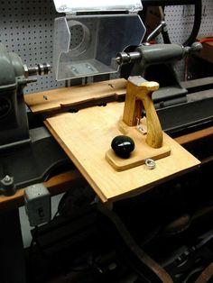 Home Made Wood Lathe Duplicator