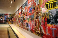 "An historical mural Penley painted for the ""new"" World of Coca-Cola in 2008. His work now hangs in Coca-Cola offices around the world -- from Shanghai to London -- as well as in New York's Madison Square Garden (a longtime Coke partner) and countless private and corporate collections around the world. Any time we need something that represents Coca-Cola, whether it's for the Olympics or one of our customers, he's ready to do a fantastic job."""