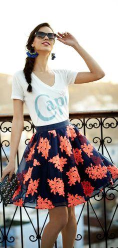 Pome Blossom Skirt ~ Anthropologie