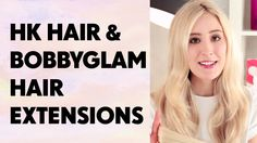 Dirty Looks HK and Bobby Glam hair extensions. Both: 100% remy human hair. Thick from top to bottom.