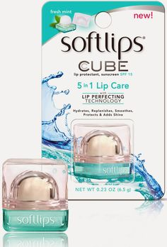 Coming Soon: The Softlips CUBE (three flavors)