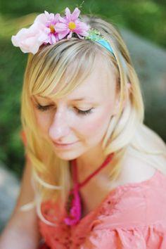 ♥ #handmade #flowers #headband #clementineLovee #nymph #jewelry