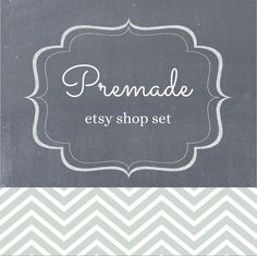 Hey, I found this really awesome Etsy listing at https://www.etsy.com/listing/177389053/premade-etsy-shop-set-etsy-banner-avatar