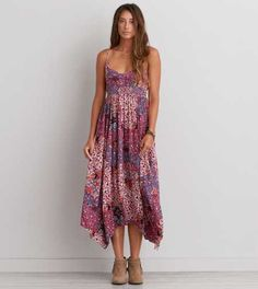 AEO Patterned Maxi Dress - Buy One Get One 50% Off