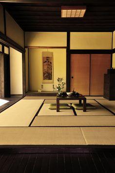Japanese farmhouse. Bedroom for mister man.