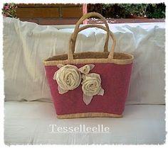 Di tutto un po'... bijoux, uncinetto, ricamo, maglia... ღ by tesselleelle ღ : Un po' di borse e borsine...