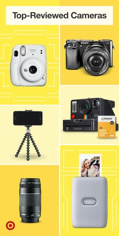 Summer photoshoot? Check out top-reviewed instant cameras, DSLRs & tripods for family photos. Sony Camera, Camera Gear, Photography Challenge, Instant Camera, Family Night, Family Activities, Cute Wallpapers, Family Photos, Cameras