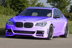 purple BMW
