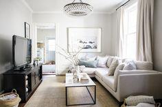 Our Living Room Reveal | lark & linen
