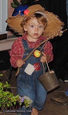 DIY Huckleberry Finn costume - homemade Halloween costume