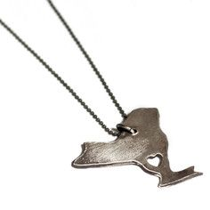 I Heart New York Necklace, $42, now featured on Fab.