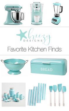 Kitchen appliances! Totally in this color!
