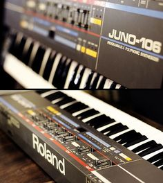The Juno106, one of the most influential synths of the 80's. It also inspired one of my favorite software synths, Synth1 (I haven't made a track without it in years).