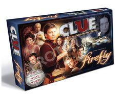 Usaopoly Firefly Clue Board Game $39.99 <<< YESYESYESYESYESYESYES PLEASE!!!!!!!!!!!!!!!!!!!!