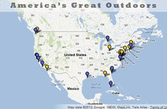 Wouldn't it be great to have a map to find a national marine sanctuary or national estuarine research reserve? These sites make great tourist destinations. This tool has just what you need.