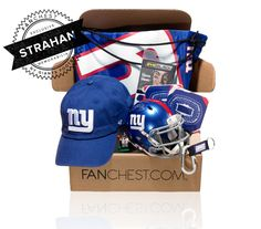 09c7316b442 Michael Strahan Autographed NY Giants Memorabilia Gift Box • FANCHEST  Michael Strahan
