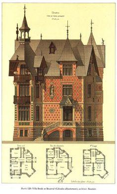 Victorian Architecture, Classical Architecture, Architecture Plan, Architecture Details, Drawing Architecture, Historical Architecture, School Architecture, Inspire Me Home Decor, Victorian House Plans