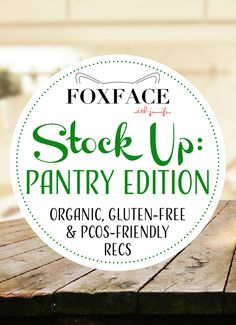 What's in My Pantry? My Current List of Favorites – Organic, Gluten-Free, and More http://foxfacewithjennifer.com/2018/02/19/whats-pantry-current-list-food-favorites/?utm_campaign=crowdfire&utm_content=crowdfire&utm_medium=social&utm_source=pinterest