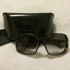 FENDI Sunglasses - Black 100% Authentic Fendi Sunglasses! Beautiful black sunglasses with adorable rose detail on sides of frames! Sunglasses are in excellent condition. Comes with Fendi case & Fendi dust cloth! I'm open to offers ❤️ NO TRADES/NO PAYPAL ❤️ FENDI Accessories Sunglasses