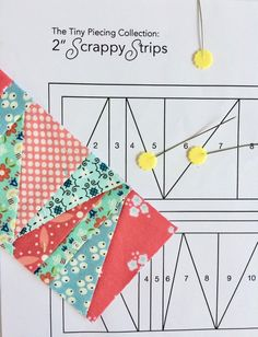 Scrappy and foundation paper pieced quilt patterns. Paper Pieced Quilt Patterns, Quilt Block Patterns, Quilting Projects, Quilting Designs, Triangles, Quilt Modernen, Paper Quilt, Crazy Quilt Blocks, Foundation Paper Piecing